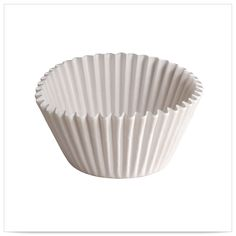 6 x 2 1/4 x 1 7/8 White 5 oz Fluted Bake Cups/Case of 10000 Tags:  Baking Cups;  baking cups;White Baking Cups;Baking Cups; https://www.ktsupply.com/products/32789329100/6-x-2-14-x-1-78-White-5-oz-Fluted-Bake-CupsCase-of-10000.html