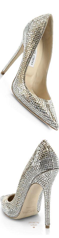 Jimmy Choo Tartini Square Pavé Crystal & Suede Pumps | LOLO❤︎ Stilettos, High Heels, Stiletto Shoes, Jimmy Choo Shoes, Dior, Shoe Art, Dream Shoes, Beautiful Shoes, Wedding Shoes