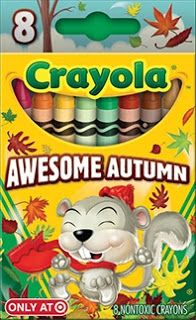 "The Crayon Blog: The Crayola Target ""Pick your Pack"" Exclusive Set Awesome Autumn - Need this"