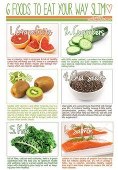 6 Foods to Eat Your Way Slim