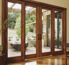 Wooden Sliding Patio Doors Interior Design For Home Remodeling with sizing 2249 X 1500 Wooden Sliding Patio Doors - These door sound seals are made from de Exterior Sliding Glass Doors, Sliding French Doors, French Doors Patio, Interior Barn Doors, French Patio, Interior Trim, Double Doors, Wood French Doors Exterior, Interior Design