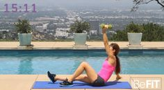 HIIT Workout: Upper Body and Abs (Video)