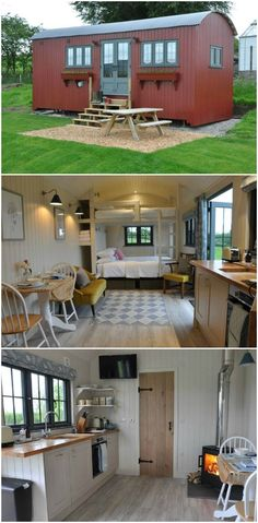 15 dreamy shepherds huts you can rent 15 dreamy shepherds hu Tiny House On Wheels casaspequeñas dreamy huts rent shepherds Tiny House Cabin, Tiny House Living, Tiny House Plans, Tiny House Design, Tiny House On Wheels, Small Home Design, Shepherds Hut, Little Houses, Tiny Houses