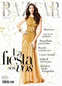 Magazines - The Charmer Pages : Carla Ciffoni for Harper's Bazaar Argentina December 2013
