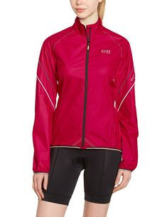 GORE BIKE WEAR Womens Power Windstopper Active Shell Jacket Jazzy Pink XLarge >>> Want to know more, click on the image. (This is an affiliate link)