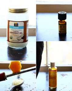 DIY homemade lotion using beeswax and coconut oil. Made it, and it is great!