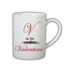 V Is for Valentine 11 Oz Ceramic Cup Mug RTR MG http://www.amazon.com/dp/B00XJ5ELPI/ref=cm_sw_r_pi_dp_agRxvb17WRBMS