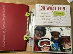 Handmade by Fanny Blog, Memories, Baseball Cards, Fun, Handmade, Paper, Photograph Album, Cards, Memoirs