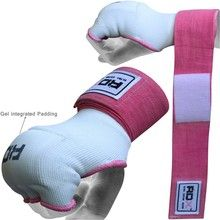 RDX Ladies Gel Inner Hand Wraps Gloves Boxing Fist Piink Bandages MMA Women Gym