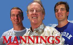 Peyton Manning Family   Archie Manning/Peyton Manning & Eli Manning