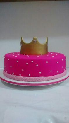 Bolo Princesa Pink
