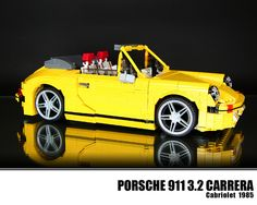 LEGO Porsche 911 3.2 Carrera Cabriolet 1985