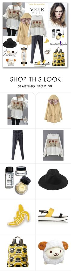 """""""Beautifulhalo 205"""" by ludmyla-stoyan ❤ liked on Polyvore featuring Lulu*s, Bobbi Brown Cosmetics, Georgia Perry, Karl Lagerfeld, Orla Kiely, INC International Concepts, Isabel Marant, women's clothing, women's fashion and women"""