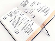 bullet journal daily, inspiration pages, nederland, boekje, 15 bujo ideas
