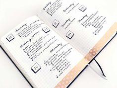 bullet journal daily, inspiration pages, nederland, boekje, 15 bujo ideas