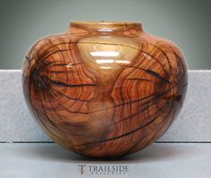 Greg Campbell Turned Wood Vessel