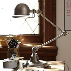Very retro... http://remodelista.com/posts/10-easy-pieces-economy-desk-lights