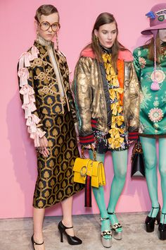 In case you haven't noticed, there's a revolution happening over at Gucci and the genius leading the rebellionis a manwho strongly believes in emotion overrationality.Since he was appointed creative director nearly a year ago,Alessandro Michele has uncovered the delightful eccentricity in