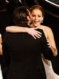 Jennifer Lawrence & Bradley Cooper *_*