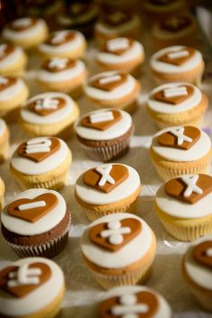 Wedding math cupcakes.