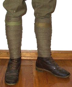 Until WWII, puttee were used by military personnel and explorers. If you are an reenactor or dressing a Steampunk explorer, puttees may be that critical finishing details.