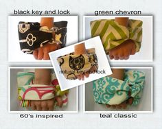 unique front grasp wristlet / functional and comfortable on Etsy, $28.00