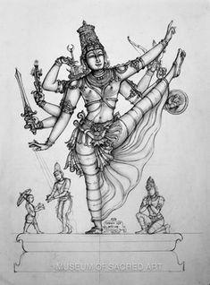 Trivikrama Murty In Adi Bhanga Kerala Mural Painting, Tanjore Painting, Indian Art Paintings, Ancient Indian Art, Indian Folk Art, Shiva Art, Krishna Art, Indian Illustration, Thailand Art