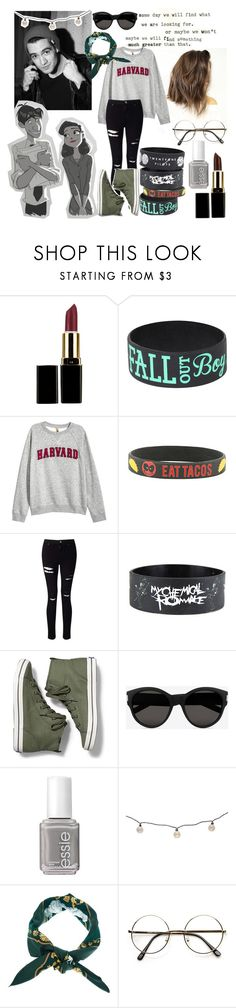 """Caspar"" by flowerstormer ❤ liked on Polyvore featuring H&M, Miss Selfridge, Keds, Yves Saint Laurent, Disney, Essie, Threshold, Hermès and ZeroUV"