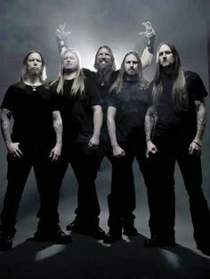 Amon Amarth is a melodic death metal band from Tumba, Sweden, founded in 1992. It takes its name from the Sindarin name of Mount Doom, a volcano in J. R. R. Tolkien′s Middle-earth.