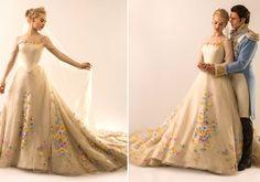 Vestido de noiva cinderela