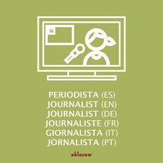 #Periodista #Journalist #Journalist #Journaliste #Giornalista #Jornalista