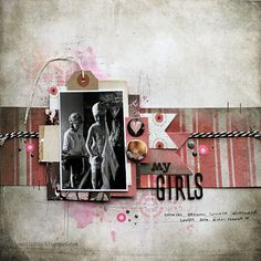 My Girls by Riikka Kovasin as a GDT to Scrap The Girls