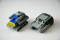 Armadillo and 'Mammoth' (Multihawk) Tags: classic lego space mini future apc nano miltary warfare microscale microspacetopia