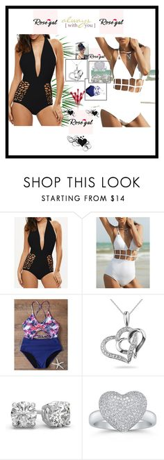 """""""Rosegal"""" by sabahetasaric ❤ liked on Polyvore"""