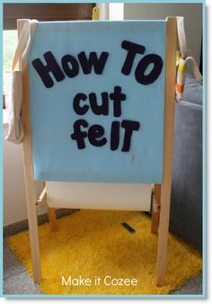 How to cut felt ♥ http://felting.craftgossip.com/2013/11/30/tutorial-secret-to-cutting-felt-making-felt-cookies/