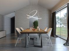 Restoration Hardware Bedroom, Bedroom False Ceiling Design, Modern Lighting Design, Modern Pendant Light, Home And Deco, Home Lighting, Living Room Lighting, Beautiful Kitchens, Decoration