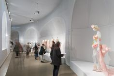 Photography by Brett Beyer. Manus x Machina fashion exhibition at New York's Metropolitan Museum of Art