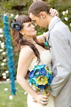 Peacock themed wedding  |  meghan wiesman photography