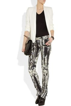 LOVE these Balmain jeans so much I ALMOST understand why someone (not me) would pay $2275. Maybe @psimadethis can help?!