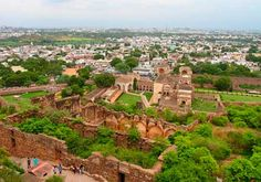 Golconda Fort is placed within the western part of Hyderabad city and is about 9 km from the Hussain Sagar Lake. The outer fortress occupies a place of 3 square kilometers, that is 4.8 kilometers.