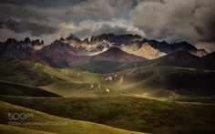 Bayan Har Mountains by James PhotoGraphy