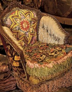 upholstery gypsy style from Mary Quite Contrary