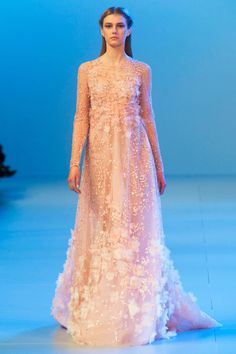 Almost ridiculously pretty, but pretty nonetheless. Elie Saab. #spring2014 #couture #eliesaab