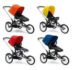 Bugaboo Runner Base with the Bugaboo stroller seats!