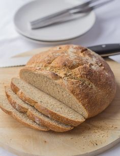 A traditional cob loaf. The perfect mopping up accompaniment for soups and meat and fish stews.