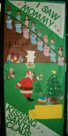 christmas office door decoration. Best Idea For Christmas Door Decorating So Going To Do This Office Decoration E