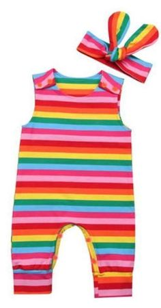 e76f11162b7 55 Best Baby Girl Rompers images in 2019
