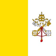 Vatican Flag - from extract from THE GENTLE TRADITIONALIST on Why the Church is the Only Hope for Humanity … http://corjesusacratissimum.org/2016/02/the-gentle-traditionalist-on-the-only-hope-for-humanity/