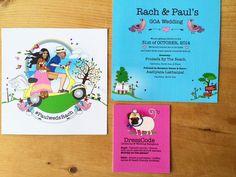Wedding invites - ceremony- by rachanadesign