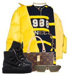 """""""Untitled #1"""" by drakesprincesa ❤ liked on Polyvore featuring Chanel, Louis Vuitton and Puma"""